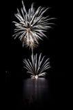 Feuerwerke II stockfotografie