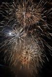 Feuerwerke im Himmel Lizenzfreie Stockbilder