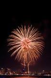 Feuerwerke International Fastival Stockbilder