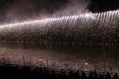 Feuerwerke in Japan Lizenzfreies Stockbild