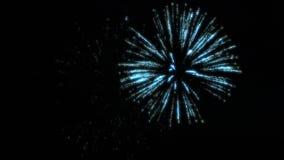 Feuerwerke nachts lizenzfreies stockfoto