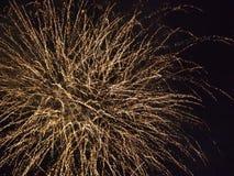 Feuerwerke (Nahaufnahme) Lizenzfreie Stockfotos