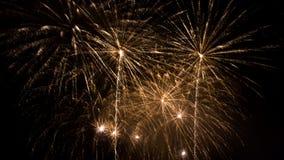 Feuerwerke - neues Jahr 2014 Lizenzfreies Stockfoto