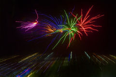 Feuerwerke, Nordterritorium, Australien Lizenzfreies Stockbild