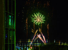 Feuerwerke, Nordterritorium, Australien Stockfotografie