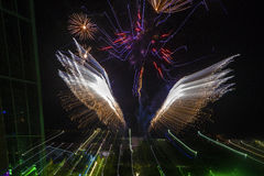 Feuerwerke, Nordterritorium, Australien Stockbilder