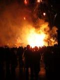 Feuerwerkerscheinen Lizenzfreie Stockfotografie