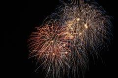 Feuerwerkfeier Lizenzfreies Stockfoto