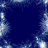 Feuerwerkfeld Stockfotografie
