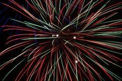 Feuerwerkhintergrund Lizenzfreie Stockfotografie