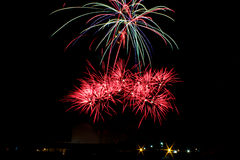 Feuerwerks-Explosion Lizenzfreies Stockbild