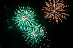 Feuerwerks-Feier Lizenzfreies Stockfoto