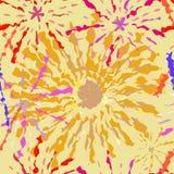 Feuerwerks-gelegentliches Muster nahtlos Lizenzfreies Stockfoto