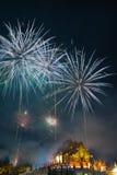 Feuerwerks-neues Jahr 2015 Lizenzfreie Stockfotografie