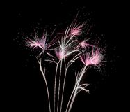 Feuerwerks-Sprengstoff Stardust Lizenzfreie Stockbilder