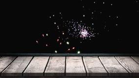 Feuerwerks-Video lizenzfreie abbildung