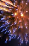 Feuerwerks-Zusammenfassung Stockbild