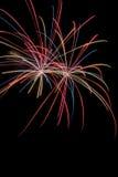 Feuerwerksanzeige Stockfoto