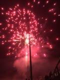 Feuerwerksanzeige lizenzfreie stockfotografie