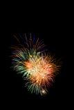 Feuerwerksanzeige Stockfotografie