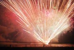 Feuerwerksbersten Lizenzfreies Stockbild