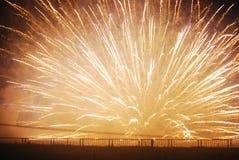 Feuerwerksbersten Lizenzfreie Stockfotos