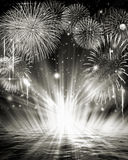Feuerwerksbild Stockfotografie