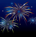 Feuerwerksdesign Lizenzfreie Stockfotos