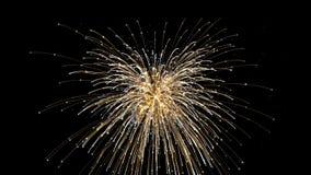 Feuerwerksscheinexplosion stockbild