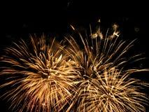 Feuerwerksshow Stockfotografie