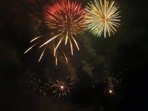 Feuerwerksshow Stockbilder