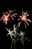 Feuerwerksshow lizenzfreies stockfoto