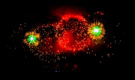 Feuerwerksshow Lizenzfreie Stockfotos