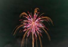 Feuerwerkssommerfestival 2017 Lizenzfreie Stockfotos
