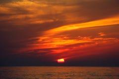Feuerwolke Stockbild