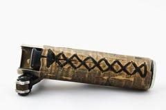Feuerzeug mit Beschaffenheiten und Braun stockfoto