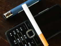 Feuerzeug-Telefon Lizenzfreies Stockbild