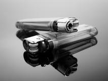 Feuerzeug zwei Lizenzfreie Stockfotografie