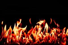 Feuerzungen Lizenzfreie Stockfotografie