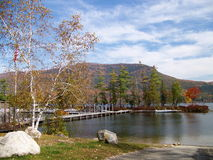 Feuillage du Vermont Image stock
