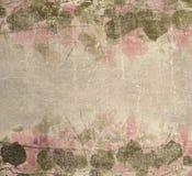 Feuillage grunge de bouganvillée de rose en pastel illustration stock