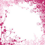Feuillage rose Photo stock