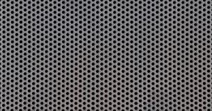 Feuillard perforé d'acier inoxydable Image stock