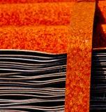Feuillards rouillés Photo libre de droits