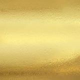 Feuille d'or brillante Photos libres de droits