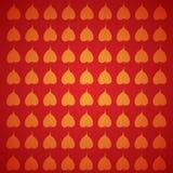 Feuille de bodhi d'arbre illustration libre de droits