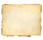 Feuille de cru de papier Images libres de droits