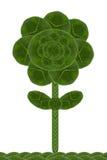 Feuille de forme de fleur Photos libres de droits
