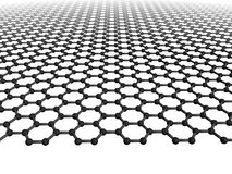 Feuille de Graphene Photo libre de droits