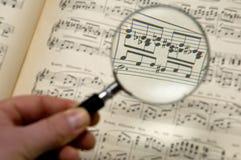 Feuille de musique Image stock